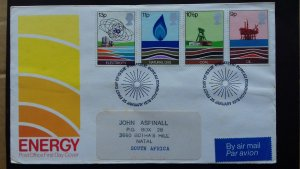 Great Britain 1978 British Wealth of Energy Resources FDC