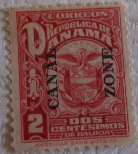 United States Canal Zone 67 MNG Cat $7.00