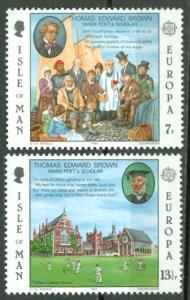 Great Britain-Isle Man # 174-75 Europa (2) Mint NH