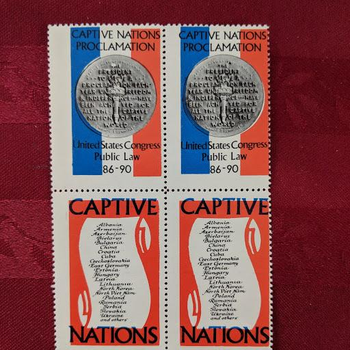 Captive Nations cinderella, CV $10