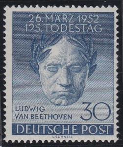 Berlin 80 MNH (1952)