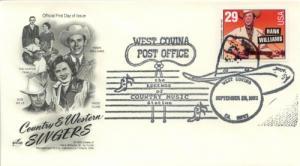 1993 Hank Williams Country Music (Scott 2775) Artcraft
