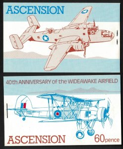Ascension Wideawake Airfield 4v Booklet Stapled right 1982 MNH SG#SB4a