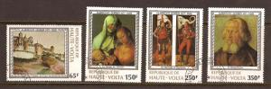 Burkina Faso  # 481- 84  Used  CTO       C