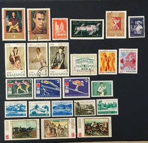 Bulgaria 1971,Sc#1950-3,1996,space Station,soccer, Workers,skiing,painting,Nenov