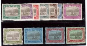 St Kitts & Nevis #52 - #62 VF Mint Set