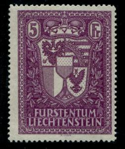 LIECHTENSTEIN 131 MINT NH