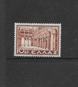 Corfu N30 1941 10d Key Value Mint OG LH Retail $725