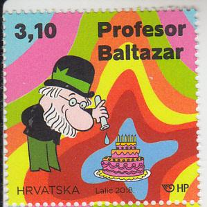2018 Croatia Professor Balthazar Animated Series (Scott 1071) MNH