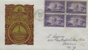 903 3c VERMONT - Ludwig Staehle #4 - Bl4