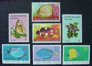 Cocos Island, Various issues, all MNH