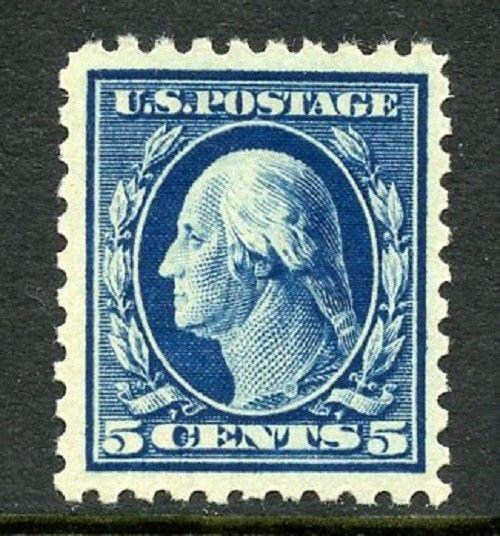 U.S. Scott 428 5 Cent Picturing George Washington in VF MNH w/PSE Cert.