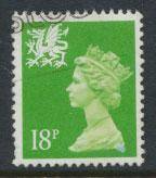 Great Britain Wales  SG W49 SC# WMMH34 Used  see details 1 right sideband