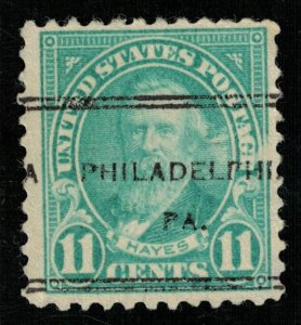 USA, Rutherford B. Hayes, 11 cents, SC #563 (Т-6614)