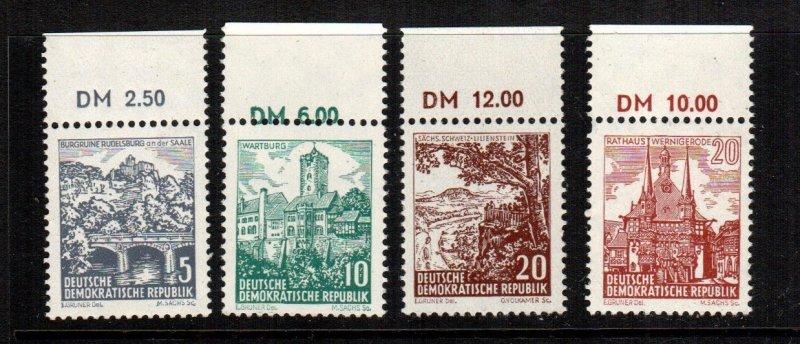 Germany DDR  535 - 539  MNH cat $ 1.30