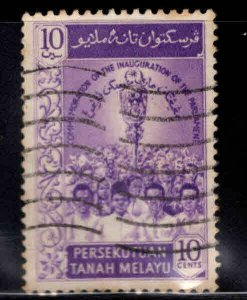 MALAYA Federation Scott 92 Used 1959 stamp