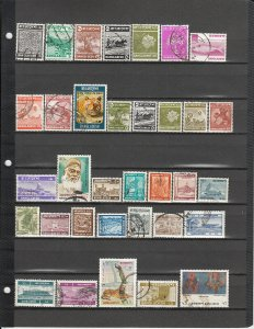 BANGLADESH **59 DIFFERENT USED 42/O43 SEE DESCRIPTION AREA LIST 2019 SCV $86.25