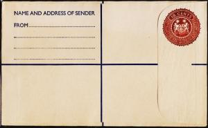Sierra Leone. Registered Envelope(18c) Unused