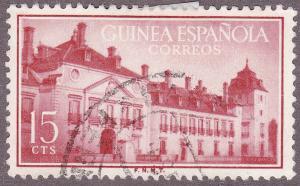 Spanish Guinea 341 USED 1955 Palace of Pardo