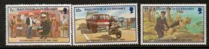 GUERNSEY SG214/6 1980 60th ANNIV OF POLICE FORCE MNH