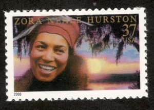 3748 Zora Neale Hurston US Single Mint/nh (Free shipping offer)
