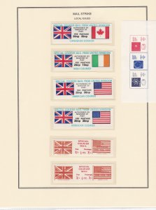 British Mail Strike Stamps & Covers and other Locals