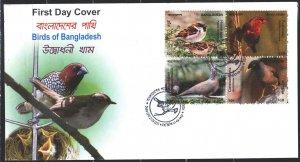 Sri Lanka. First Day Envelopes. 2010. Dove, birds.