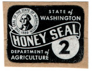 (I.B) US Revenue : Honey Seal 2c (Washington State)