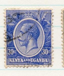 Kenya Uganda 1922 GV Early Issue Fine Used 30c. 198428