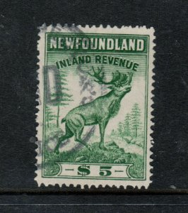Newfoundland Van Dam #NFR32 Very Fine Used