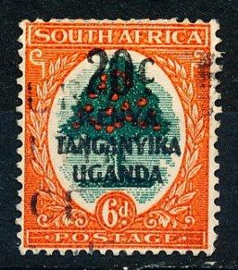 Kenya Uganda & Tanzania #88a Single Used