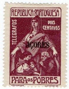 (I.B) Portugal Telegraphs : Azores 2c (surtax)