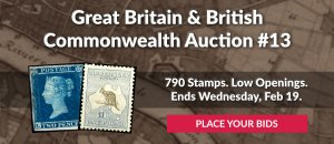 The 13th Great Britain & Commonwealth Auction