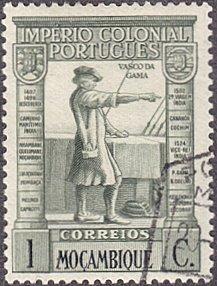 Mozambique # 270 used ~ 1¢ Vasco da Gama