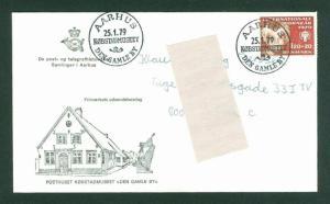 Denmark. FDC 1979. 120+20 Ore Semi-Postal. Children Aid. Sc.# B 58: Adr: Aarhus