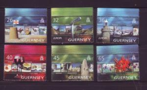 Guernsey Sc 832-7 2004 Europa Vacations stamps  NH