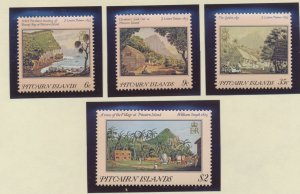 Pitcairn Islands Stamps Scott #249 To 252, Mint Hinged - Free U.S. Shipping, ...