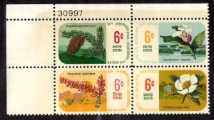 1376-1379 Mint,OG,NH... Plate Block of 4