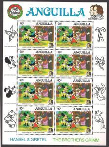 ANGUILLA SC# 651 VF MNH 1985 SHEET/8
