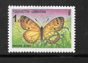 Uzbekistan #2 MNH Single