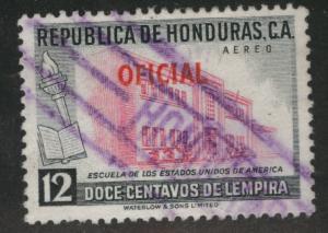 Honduras  Scott Co76 Used Official Airrmail