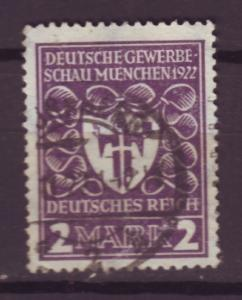 J13689 JLstamps 1922 germany used #214 arms of munich