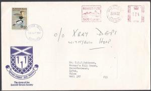 GB SCOTLAND 1982 SUMMER ISLES local on cover with meter....................53800