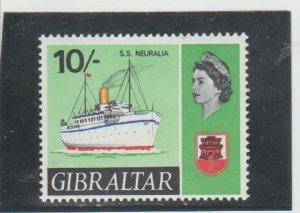 Gibraltar  Scott#  198  MNH  (1967 S.S. Neuralia)