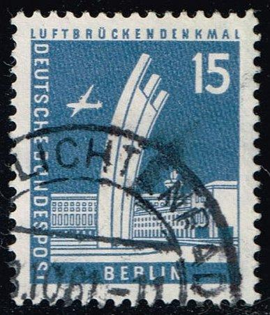 Germany #9N127 Airlift Memorial; Used (0.25)