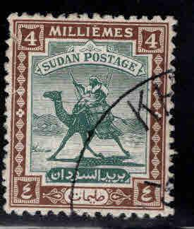 SUDAN Scott 82 Used 1948 Camel Post with new inscription 1948