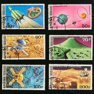Togo #937-8,C287-90 Space - CTO