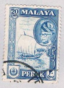 Malaya Perak 133 Used Sultan Yussaf Shah (BP22710)
