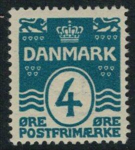 Denmark 60* CV $10.00 mint postage stamp