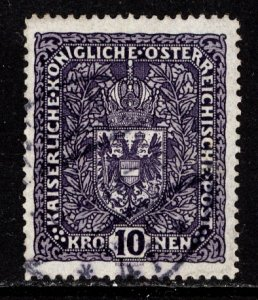 Austria 1916  Scott #163 used (CV 52.50)